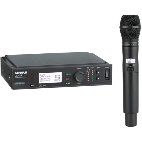 Shure ULXD24/SM87A Handheld Wireless System (Band H50)