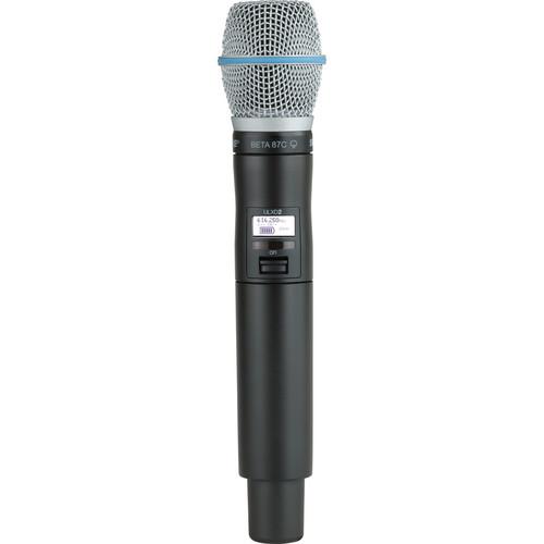 Shure ULXD2/B87C Digital Handheld Wireless Microphone Transmitter with Beta 87C Capsule (H50: 534 to 598 MHz)