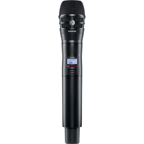 Shure ULXD2/K8B Digital Handheld Wireless Microphone Transmitter with KSM8 Capsule (G50: 470 to 534 MHz)