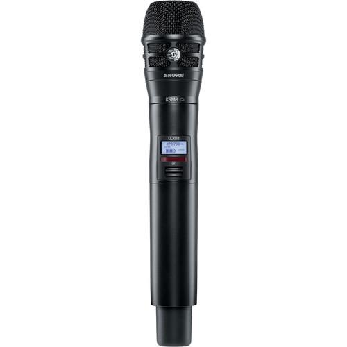 Shure ULXD2/K8B VHF Digital Handheld Wireless Microphone Transmitter with KSM8 Capsule (V50: 174 to 216 MHz)