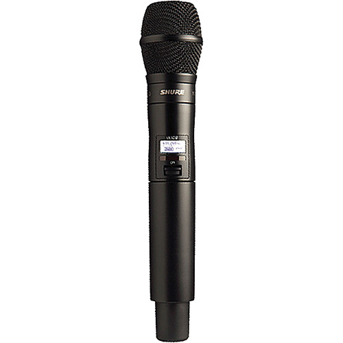 Shure ULXD2 Handheld Transmitter with KSM9 Microphone (L50: 632 - 696 MHz)