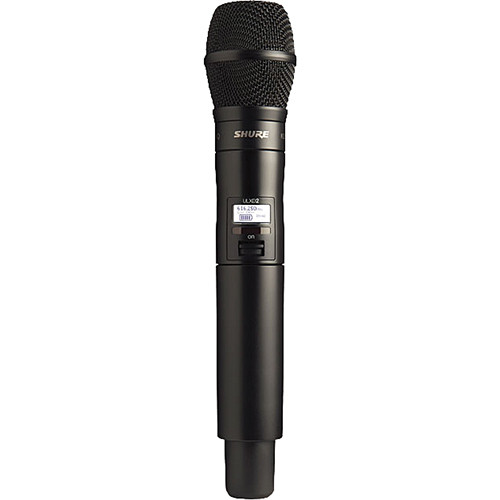 Shure ULXD2 Handheld Transmitter with KSM9HS Microphone (J50: 572 - 636)