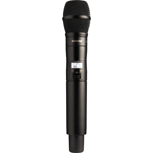 Shure ULXD2 Handheld Transmitter with KSM9HS Microphone (J50A: 572 to 608 + 614 to 616 MHz)