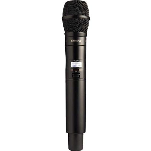 Shure ULXD2/KSM9HS VHF Digital Handheld Wireless Microphone Transmitter with KSM9HS Capsule (V50: 174 to 246 MHz)