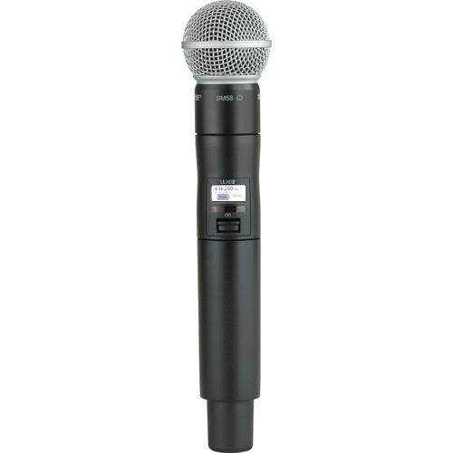 Shure ULXD2/SM58 Digital Handheld Wireless Microphone Transmitter with SM58 Capsule (X52: 902 to 928 MHz)