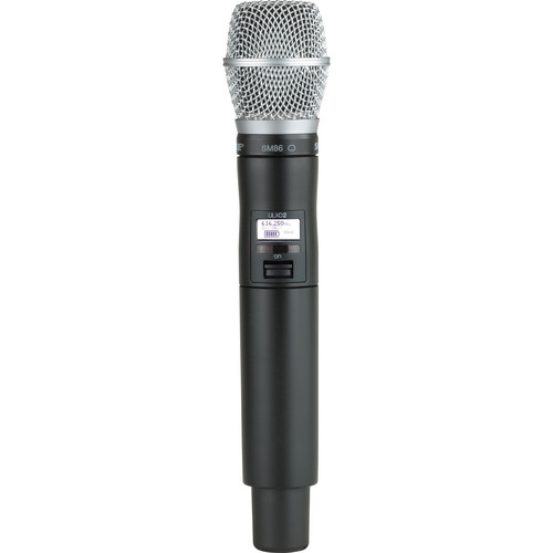 Shure ULXD2 Handheld Transmitter with SM86 Microphone Capsule (H50)