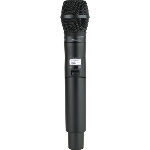 Shure ULXD2/SM87 Digital Handheld Wireless Microphone Transmitter with SM87A Capsule (H50: 534 to 598 MHz)