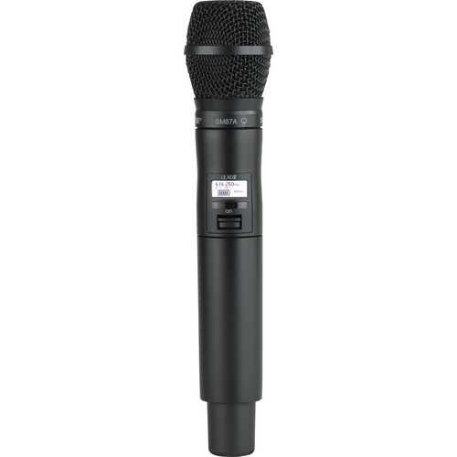 Shure ULXD2 Handheld Transmitter with SM87A Microphone Capsule (L50)