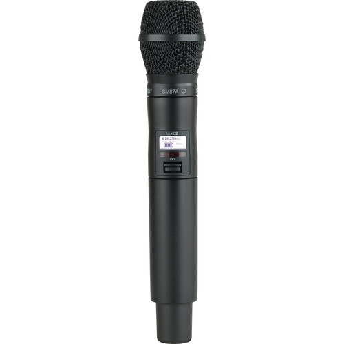 Shure ULXD2/SM87 VHF Digital Handheld Wireless Microphone Transmitter with SM87A Capsule (V50: 174 to 216 MHz)