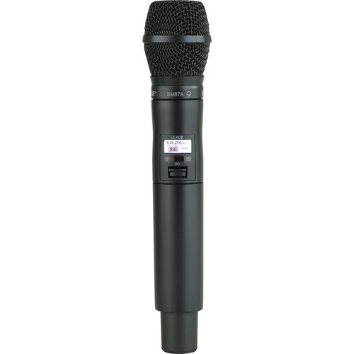 Shure ULXD2 Handheld Transmitter with SM87A Microphone Capsule (X52)