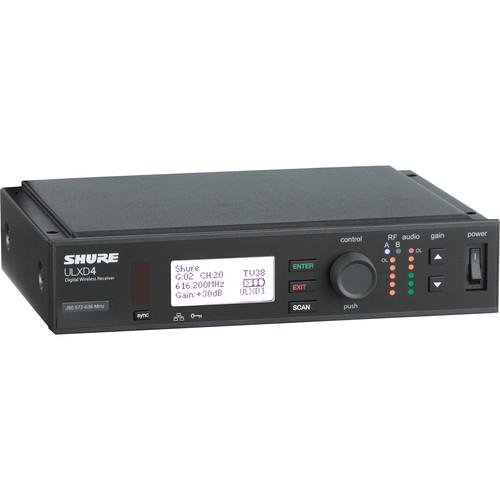 Shure ULXD4 Digital Wireless Receiver (H50: 534-598 MHz)