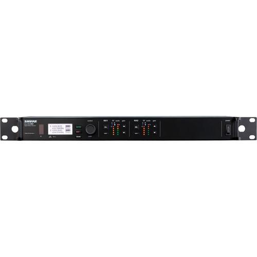 Shure ULXD4D Dual-Channel Wireless Receiver (L50)