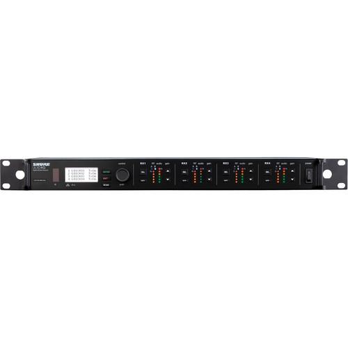 Shure ULXD4Q Quad-Channel Digital Wireless Receiver (L50: 632 to 696 MHz)