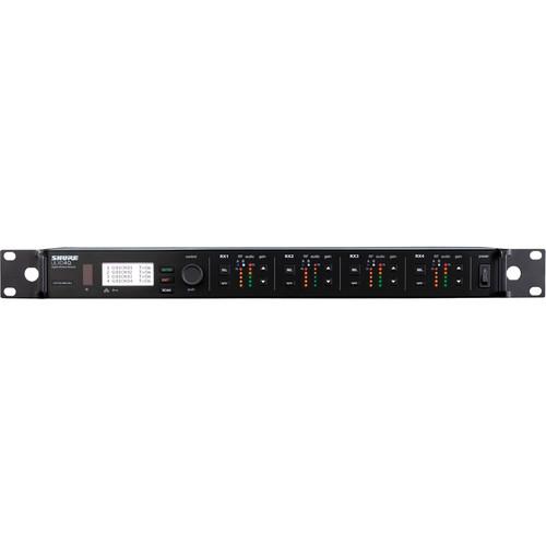 Shure ULXD4Q Quad-Channel Digital Wireless Receiver (X52: 902 to 928 MHz)