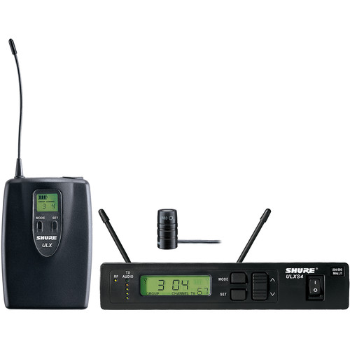 Shure ULXS14/83 Wireless Omni Lavalier Microphone System Kit (G3: 470 to 506 MHz)