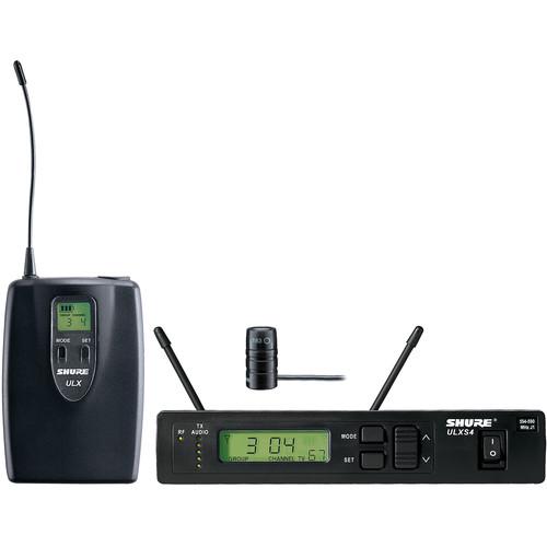 Shure ULX Single-Channel Lavalier UHF Wireless Kit (WL183, G3: 470 to 505 MHz)