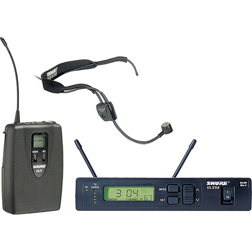 Shure ULX Pro Series Wireless Headset Microphone Kit (G3 / 470 to 505 MHz)