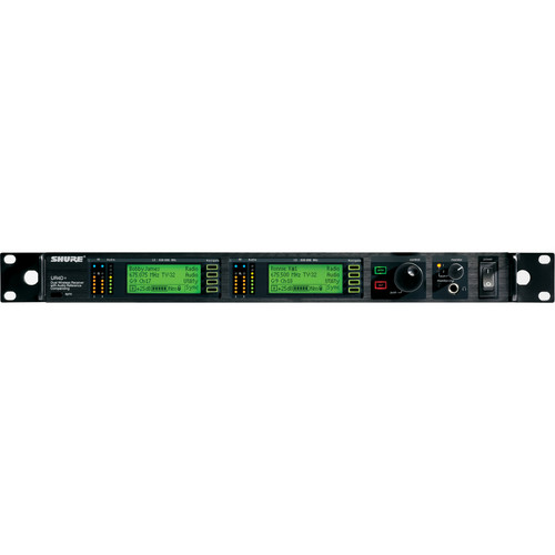 Shure UHF-R Dual-Microphone UHF Bodypack and Handheld Wireless Kit (SM58, J5: 578 - 608, 614 - 538 MHz)