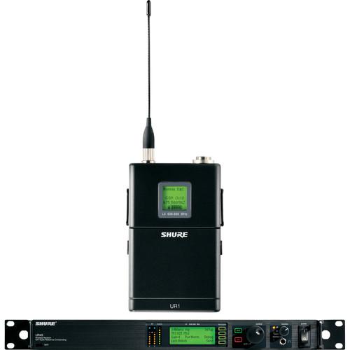Shure UHF-R Single-Channel UHF Bodypack Wireless Kit (G1: 470 - 530 MHz)