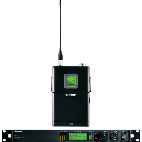 Shure UHF-R Single-Channel UHF Bodypack Wireless Kit (H4: 518 - 578 MHz)