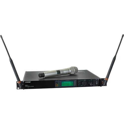 Shure UHF-R Single-Channel UHF Handheld Wireless Kit (KSM9, Champagne, H4: 518 - 578 MHz)