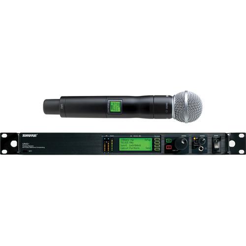 Shure UHF-R Single-Channel UHF Handheld Wireless Kit (SM58, H4: 518 - 578 MHz)