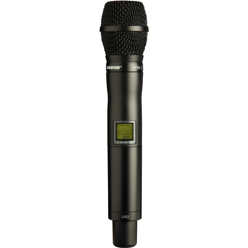 Shure UR2 Handheld Transmitter with VP68 Omnidirectional Mic Capsule (H4: 518 - 578 MHz)