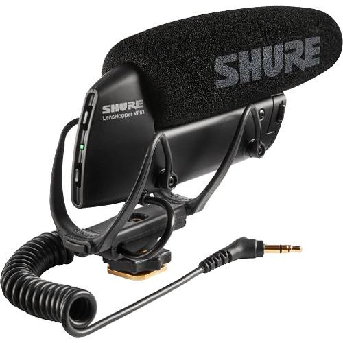 Shure VP83 LensHopper Camera-Mount Shotgun Microphone
