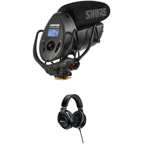 Shure VP83F LensHopper Shotgun Mic, Flash Recorder & SRH440 Headphone Kit