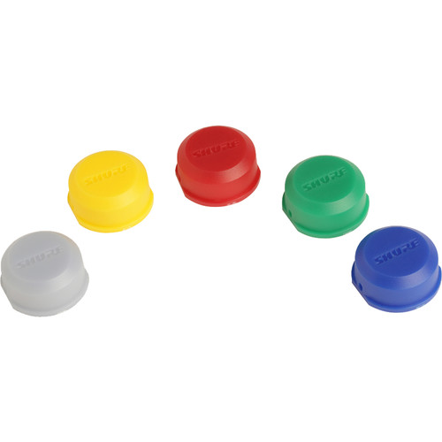 Shure Color ID Caps Kit for BLX Series Handheld Transmitters