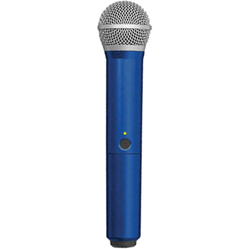 Shure WA712-BLU Color Handle for BLX PG58 Microphone (Blue)