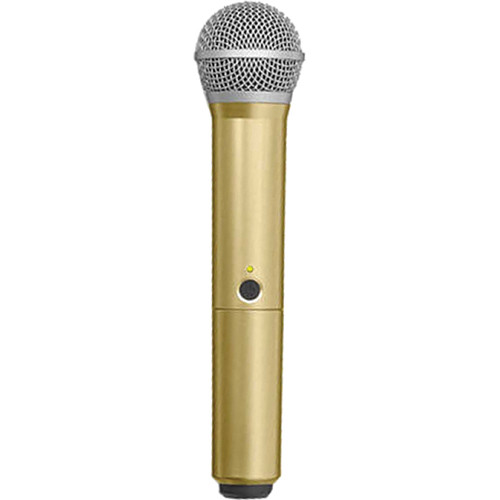 Shure WA712-GLD Color Handle for BLX PG58 Microphone (Gold)