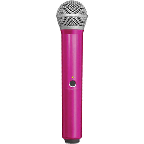 Shure WA712-PNK Color Handle for BLX PG58 Microphone (Pink)