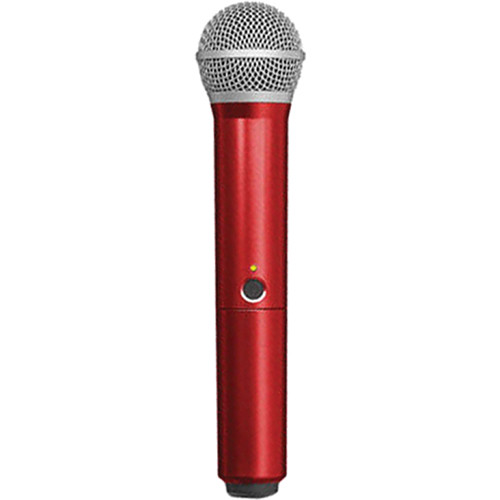 Shure WA712-RED Color Handle for BLX PG58 Microphone (Red)
