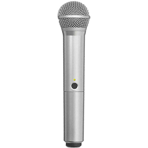 Shure WA712-SIL Color Handle for BLX PG58 Microphone (Silver)