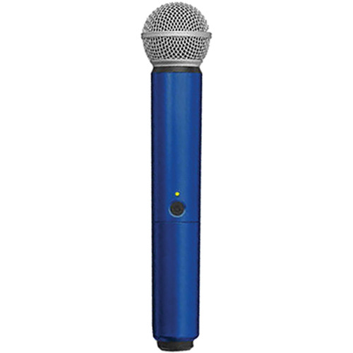 Shure WA713-BLU Color Handle for BLX SM58/BETA58A Microphone (Blue)