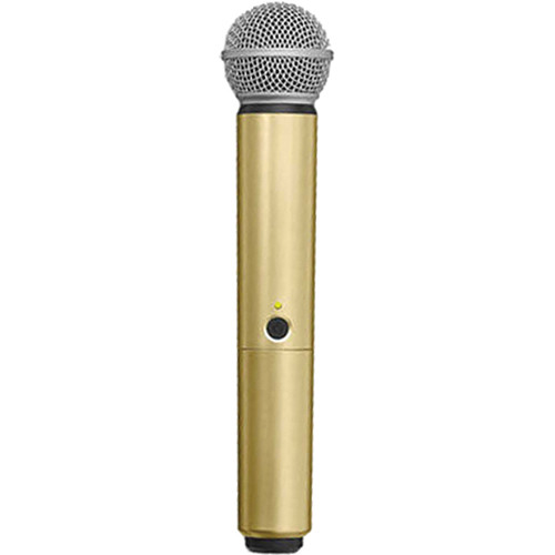 Shure WA713-GLD Color Handle for BLX SM58/BETA58A Microphone (Gold)