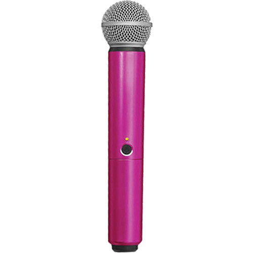 Shure WA713-PNK Color Handle for BLX SM58/BETA58A Microphone (Pink)