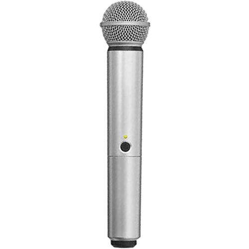Shure WA713-SIL Color Handle for BLX SM58/BETA58A Microphone (Silver)