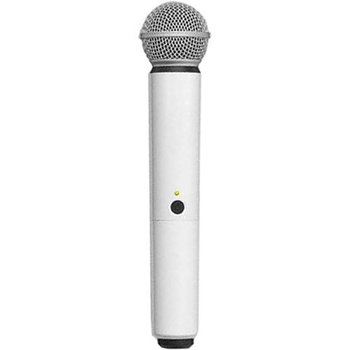 Shure WA713-WHT Color Handle for BLX SM58/BETA58A Microphone (White)