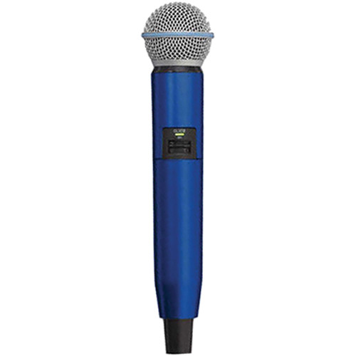 Shure WA723-BLU Color Handle for GLX-D SM58/BETA58A Microphone (Blue)