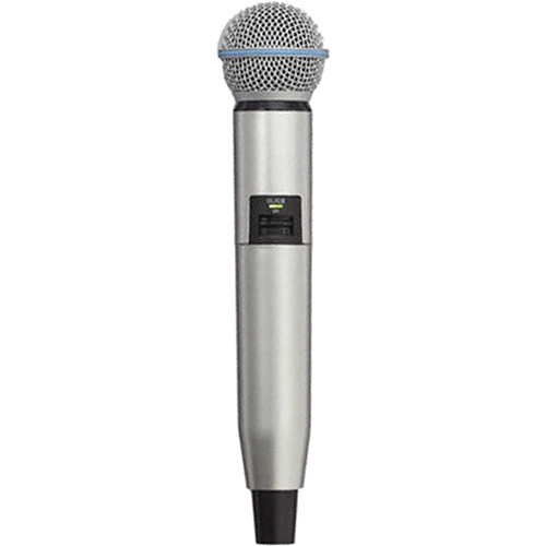 Shure WA723-SIL Color Handle for GLX-D SM58/BETA58A Microphone (Silver)