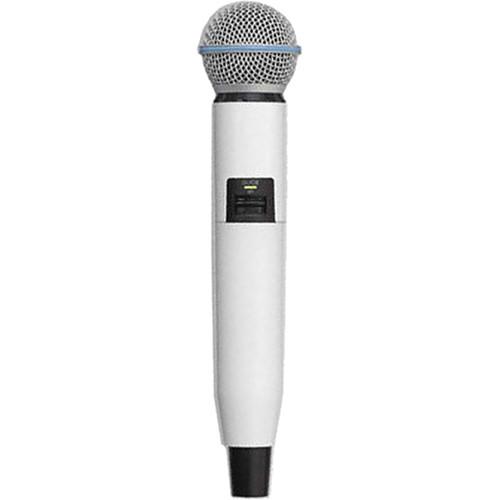 Shure WA723-WHT Color Handle for GLX-D SM58/BETA58A Microphone (White)
