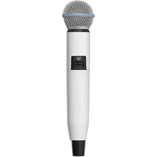 Shure WA723-WHT Color Handle for GLX-D SM58/BETA58A Microphone (White)