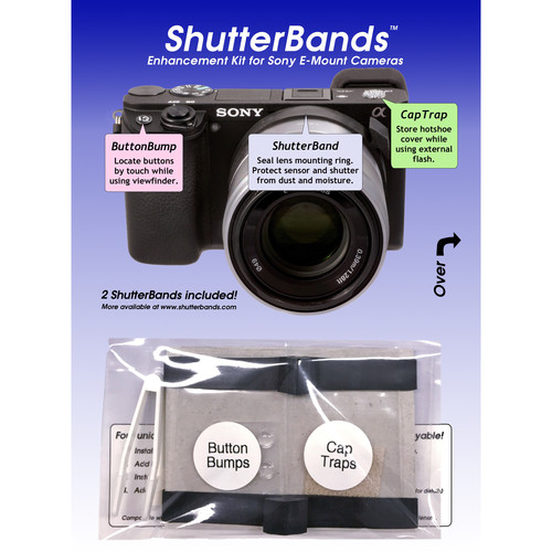 ShutterBands Enhancement Kit for Sony E-Mount Cameras