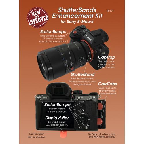 ShutterBands SB-101 Enhancement Kit for Sony E-Mount Cameras