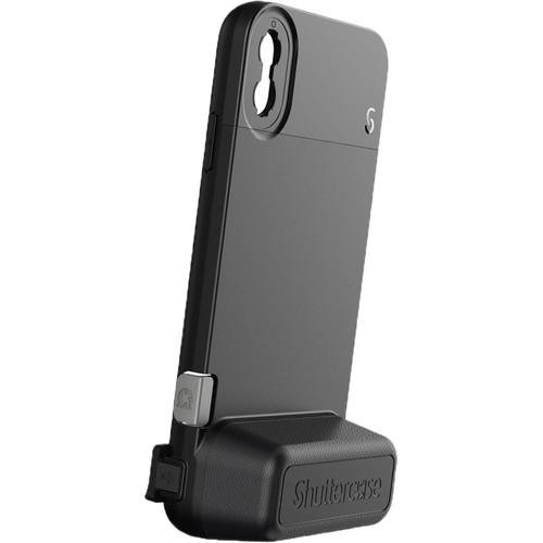 Shuttercase Battery Case for iPhone XS Max (Black Lens Mount)