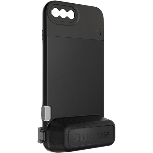 Shuttercase Battery Camera Case with Black Lens Mount for iPhone 7 Plus/8 Plus