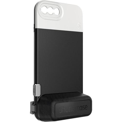 Shuttercase Battery Case V2 for iPhone 8 Plus & 7 Plus (White Lens Mount)