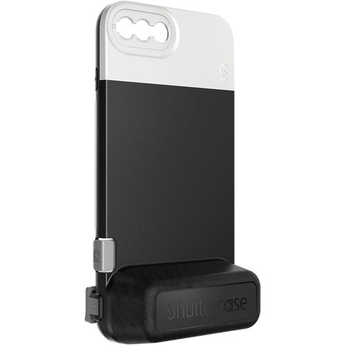 Shuttercase Battery Case V2 for iPhone 8 Plus & 7 Plus (White Lens Mount)